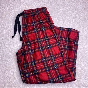 NWT Christmas Plaid Sleep Pants Small